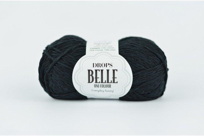 DROPS Belle - 8 czarny