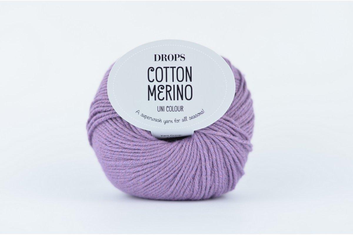 DROPS Cotton Merino 23 lawenda