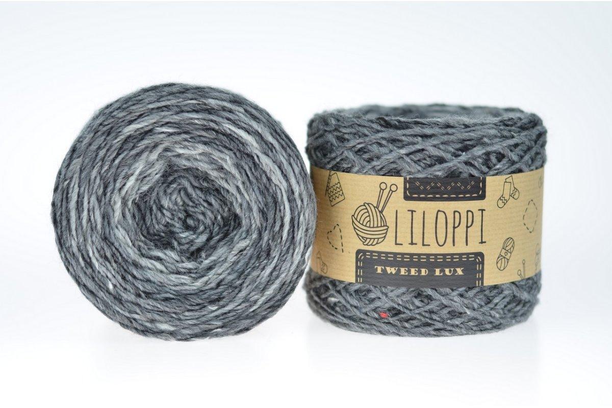 Tweed Lux - szary 38889