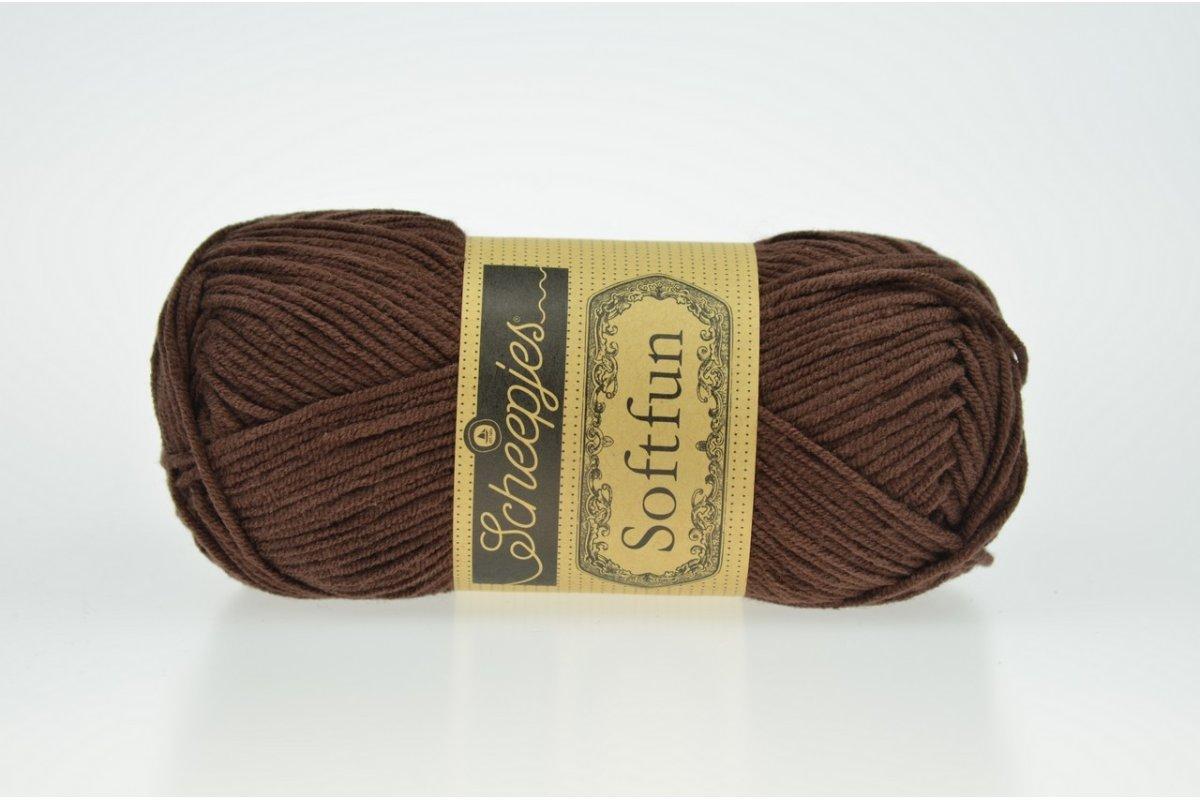 Scheepjes Softfun - 2623 Chocolate