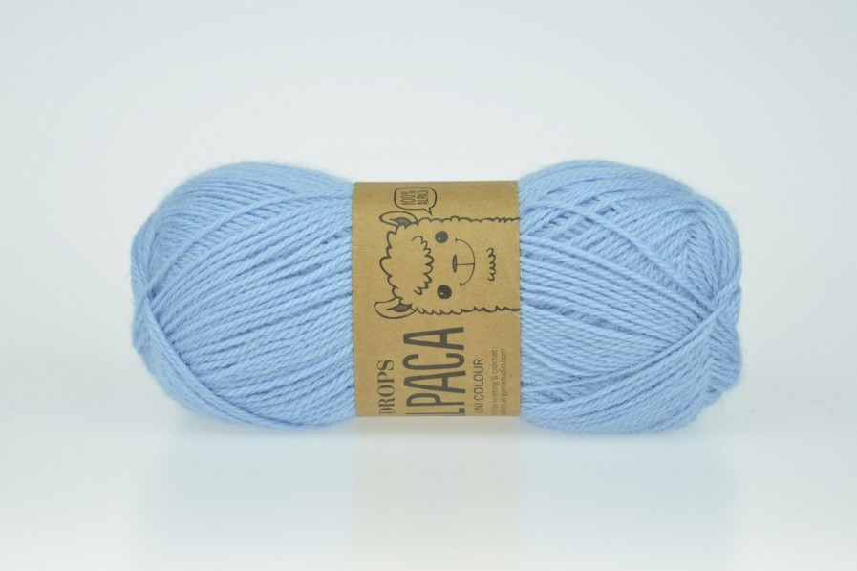DROPS Alpaca - 6205 błękitny