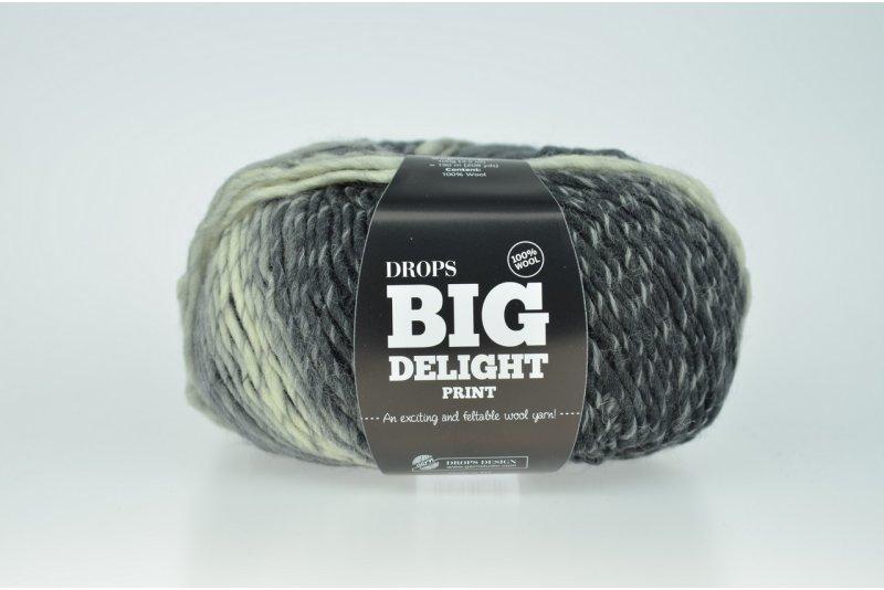 DROPS Big Delight - 13 szary