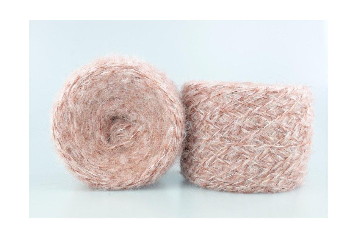 Liloppi Hippie - 1112 biały/pastelowy róż/brąz