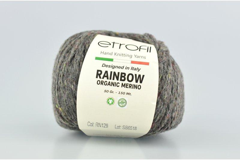 Rainbow organic merino RN129