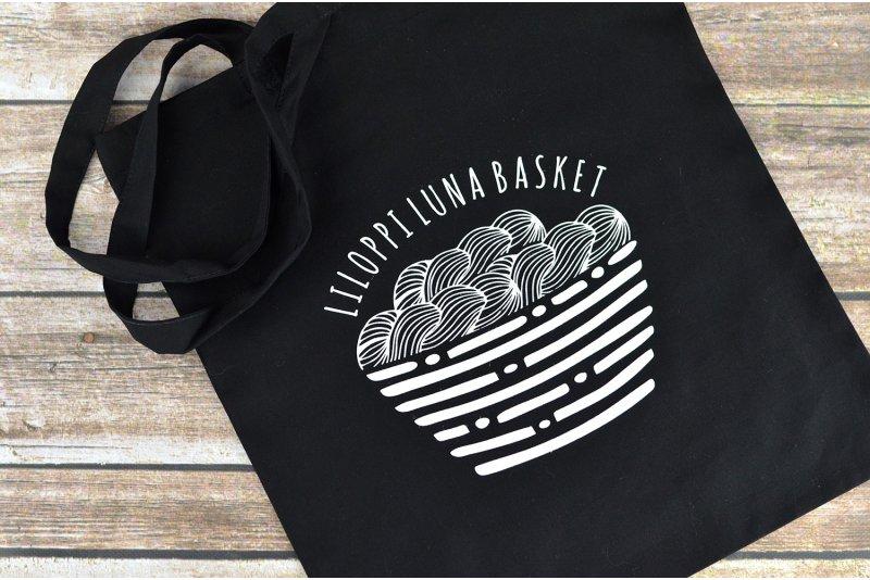 Bawełniana torba Luna Basket