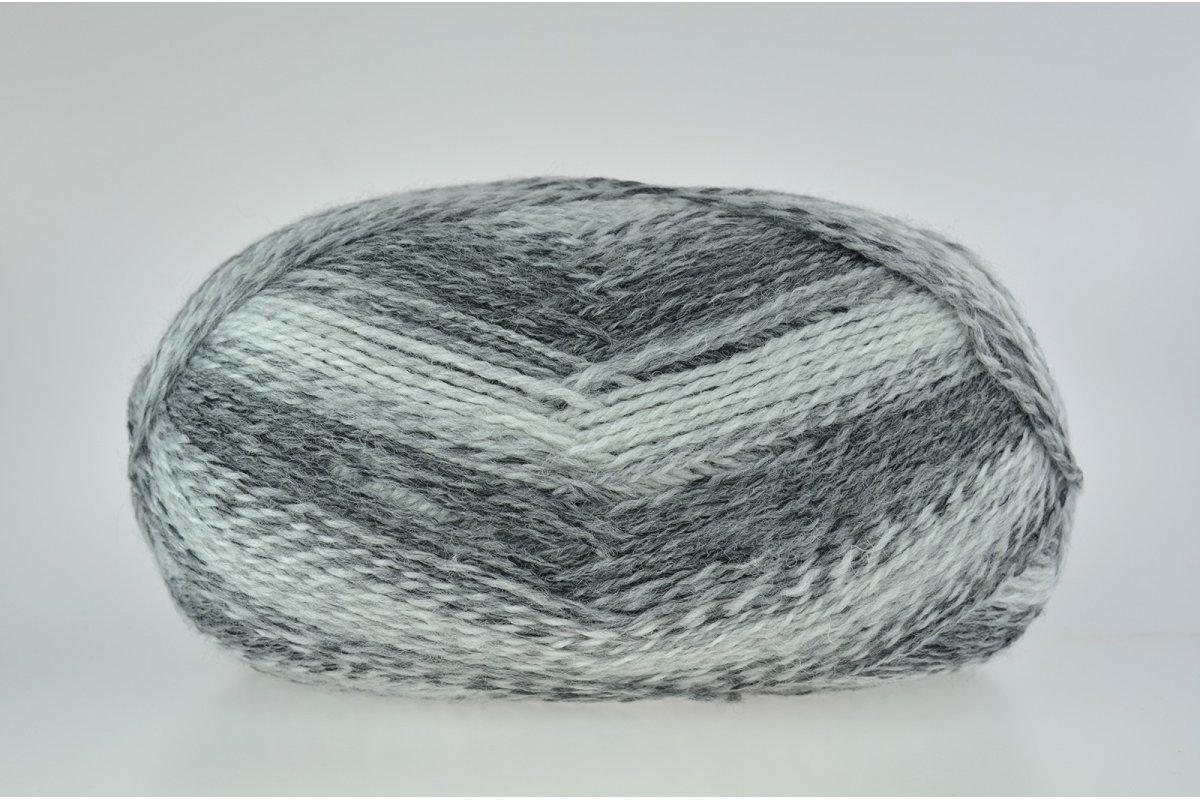 Włóczka YarnArt Everest fine - 8021 - zimowe szarości