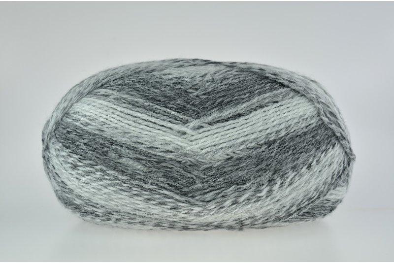YarnArt Everest fine - 8021 - zimowe szarości