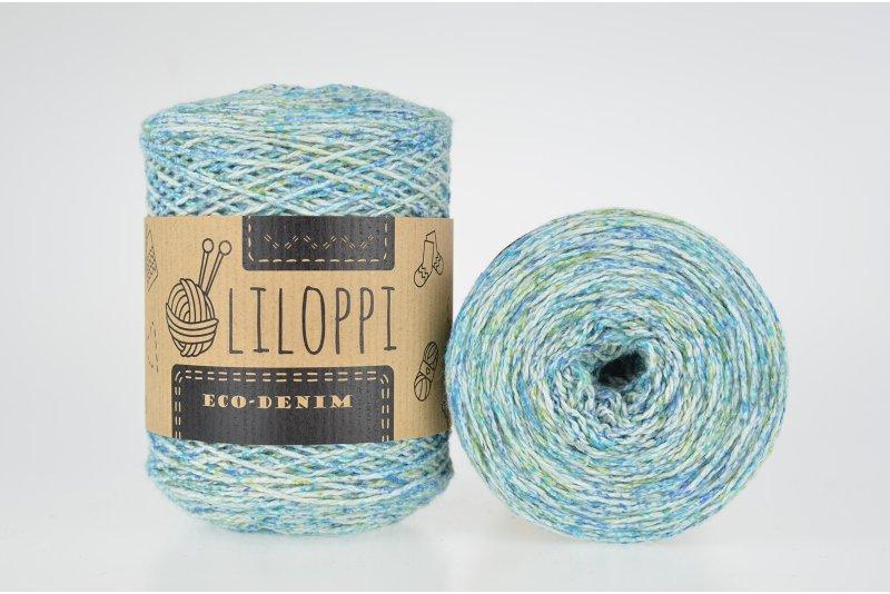 Liloppi Eco-Denim kolor wiosenne niebo