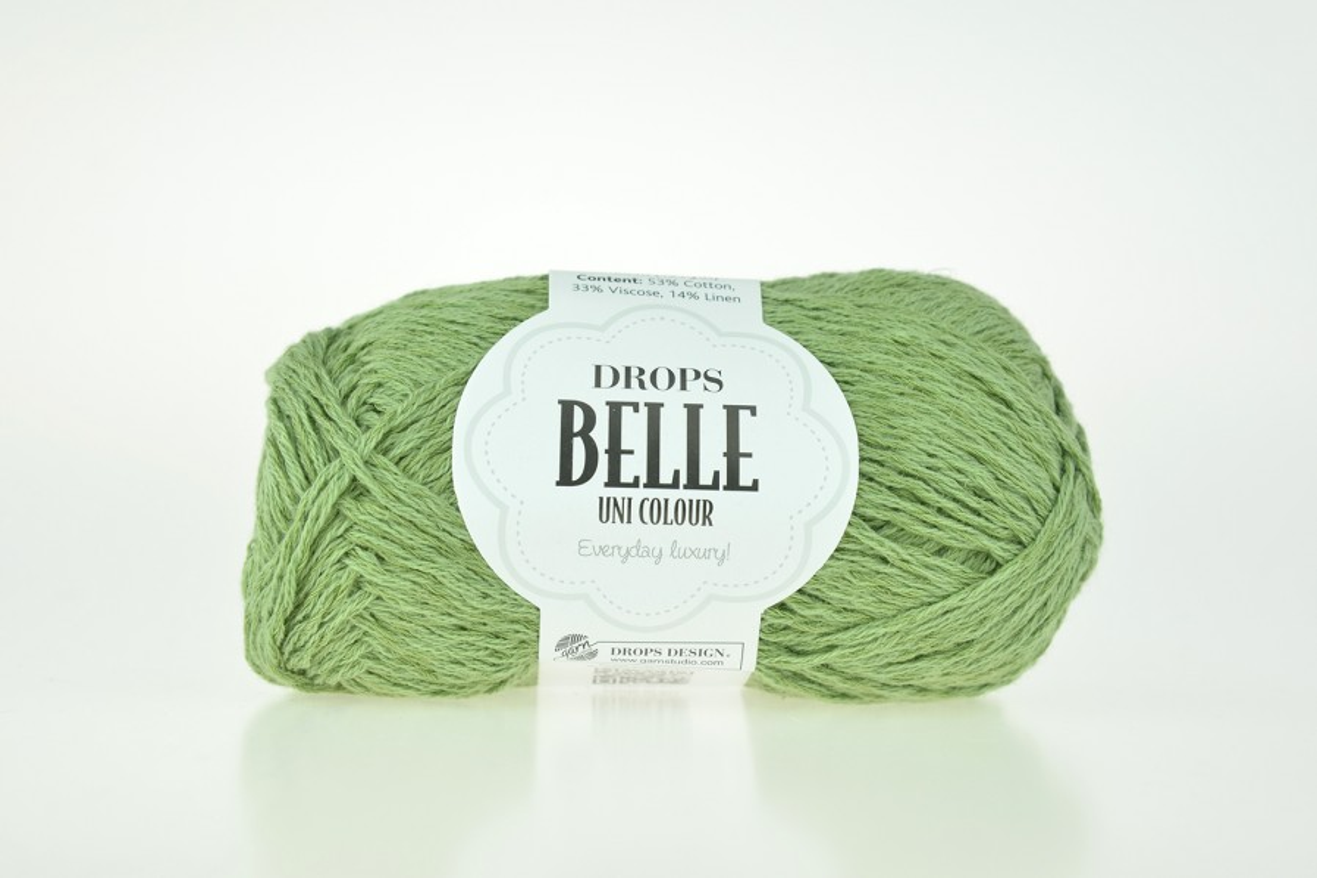 DROPS Belle - 10 zielony mech