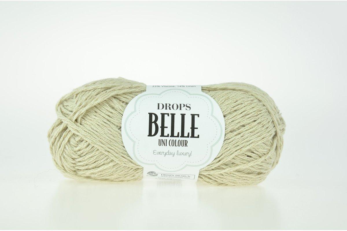 DROPS Belle - 23 krem miętowy