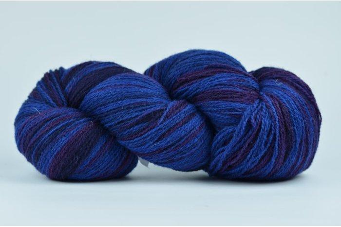 Wełna estońska 8/2 - BLUE/PURPLE - 222g
