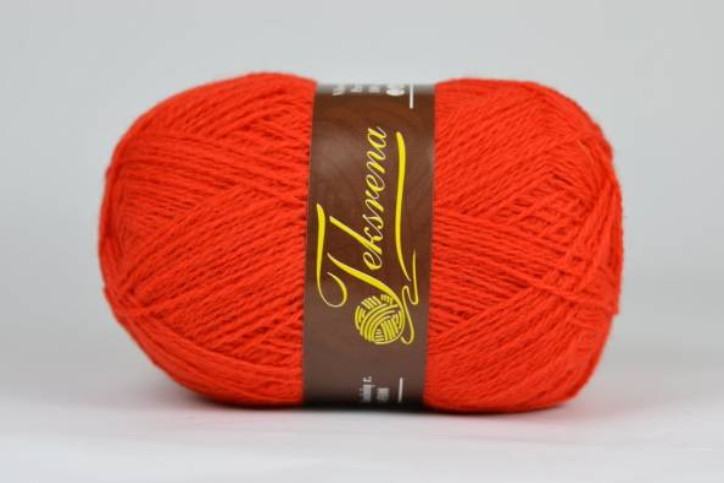 Teksrena - 108 jasna czerwona