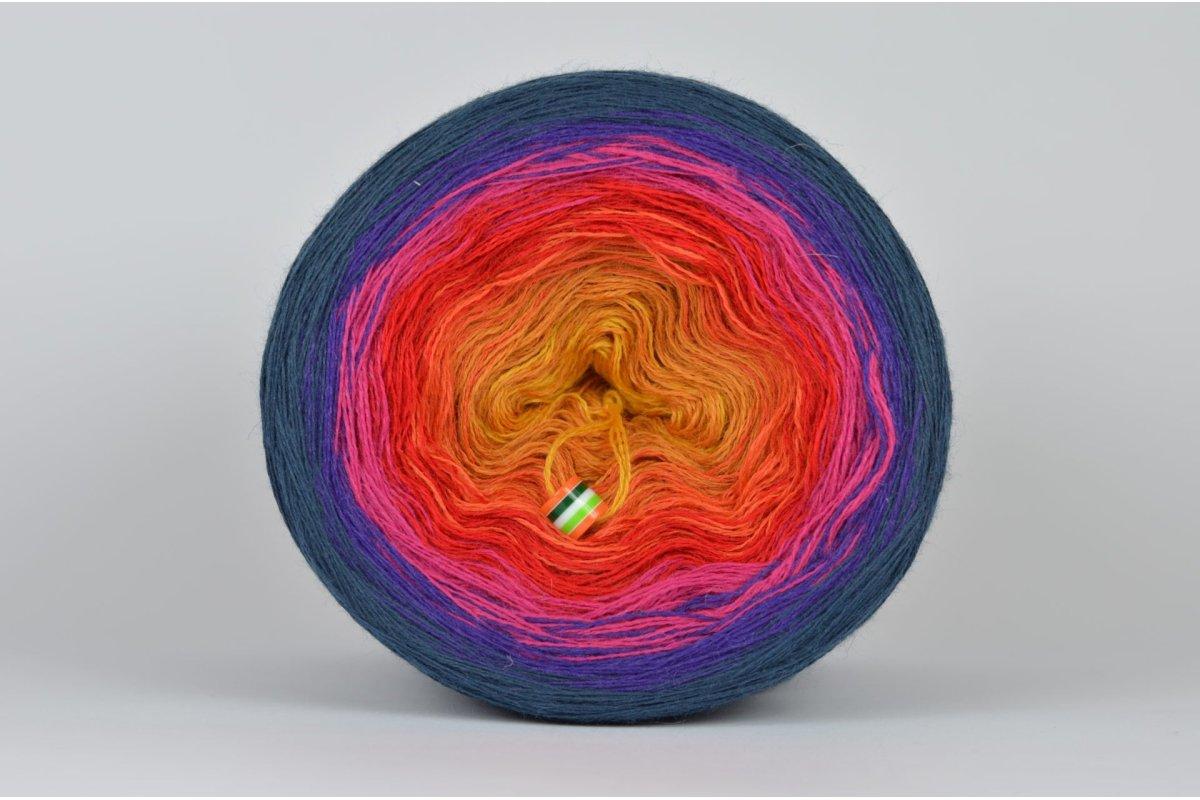 Liloppi Swing Rainbow - 3 nitki - SUMMER (R101) - 1500m