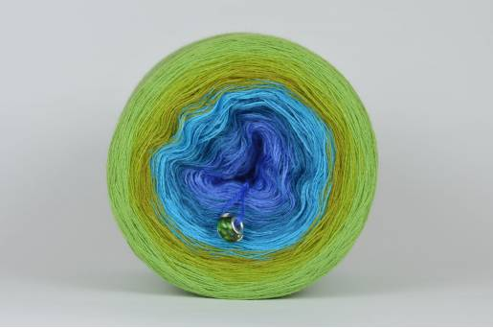 Liloppi Swing Rainbow - 3 nitki - WATER (R109) - 1500m