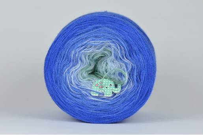 Liloppi Swing - 3 nitki - COLD WATER (170)