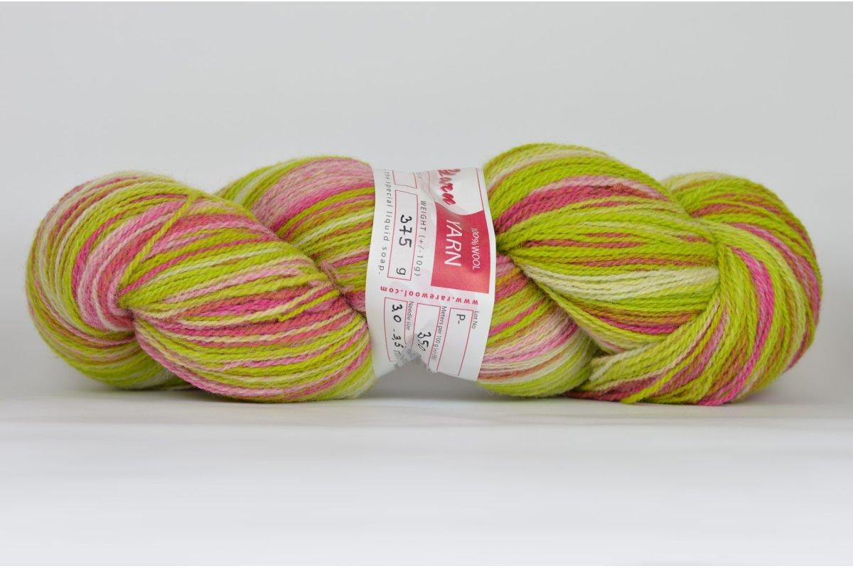 Wełna estońska artystyczna 8/2 - kolor A77 - 375g