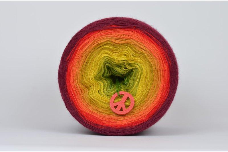 Liloppi Swing Rainbow - 3 nitki - LEAVES (R112) - 1500m