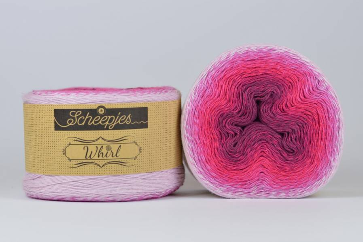 Whirl Ombre - 555 Forbidden Fuchsia - 1000m