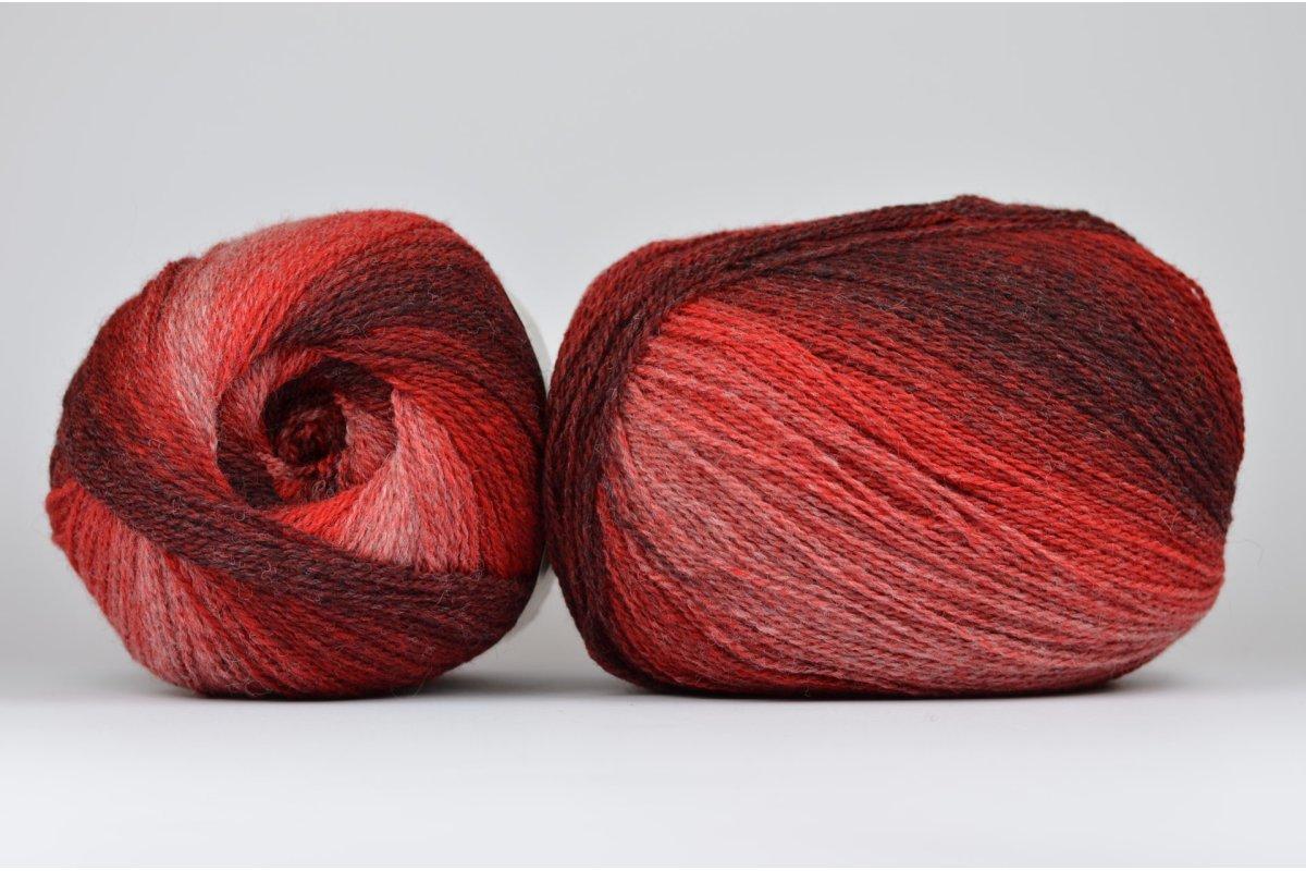 Wool Jazz Artistic - malinowa