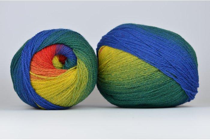 Wool Jazz Artistic - 41 tęczowa