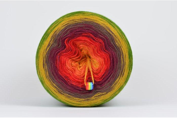Liloppi Swing Rainbow - 3 nitki - AUTUMN (R111) - 1500m