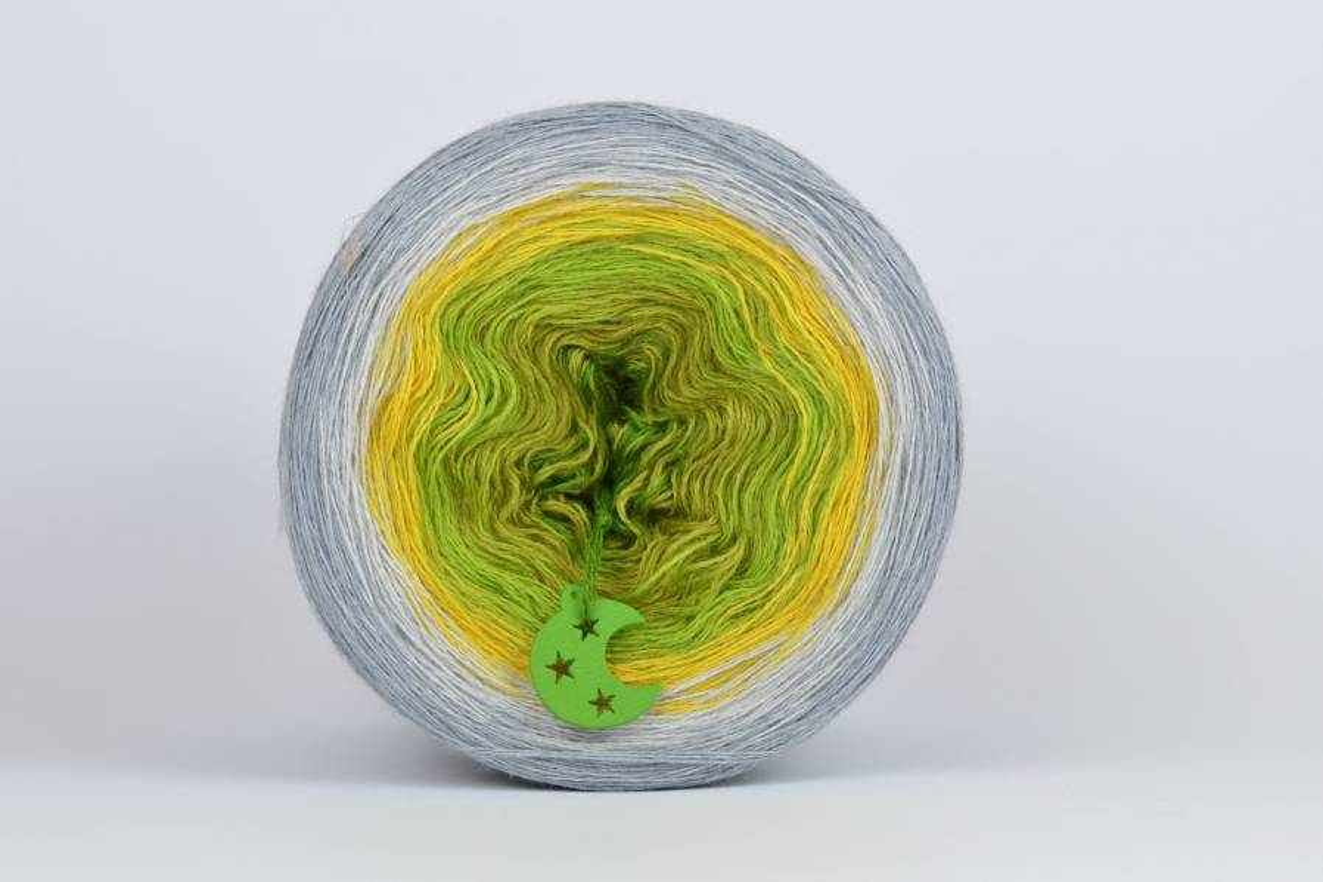 Liloppi Swing - 3 nitki - LEMON GRASS (228)