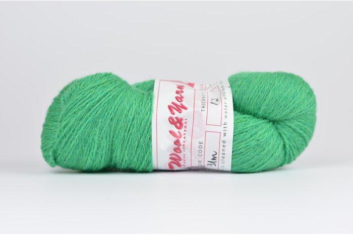 Wełna estońska 8/2 pistacjowa (91m) - 105g