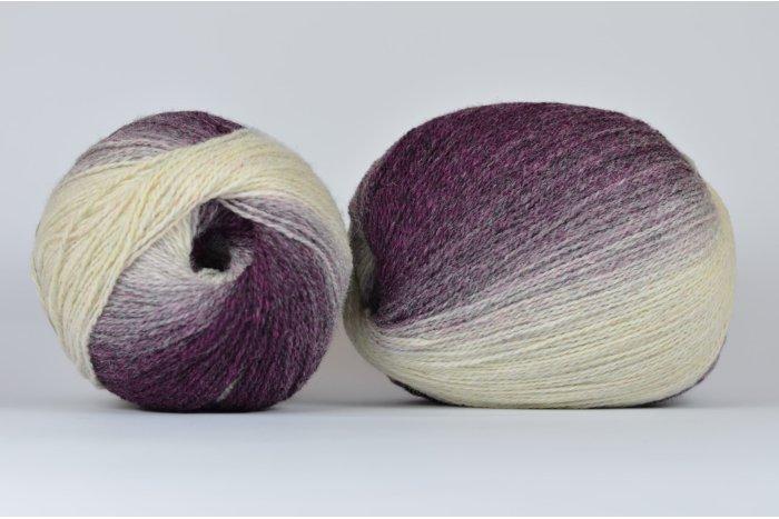 Wool Jazz Artistic - 03 jagodowo-kremowa