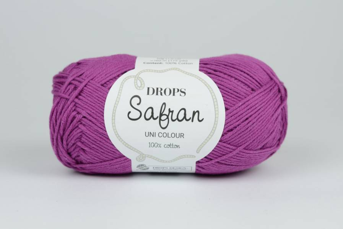 DROPS Safran - 15 fuksja
