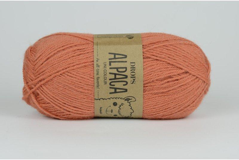 DROPS Alpaca - 2915 pomarańczowy