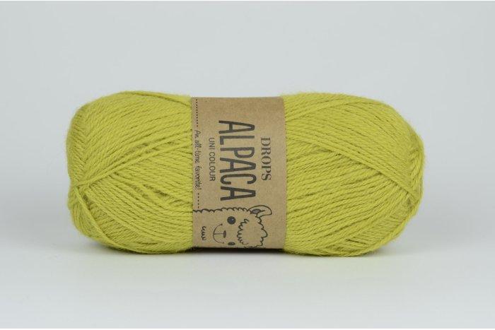 DROPS Alpaca - 2916 ciemna limonka