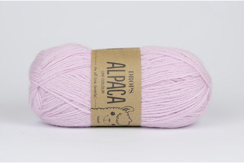 DROPS Alpaca - 3112 różowy z nutką beżu