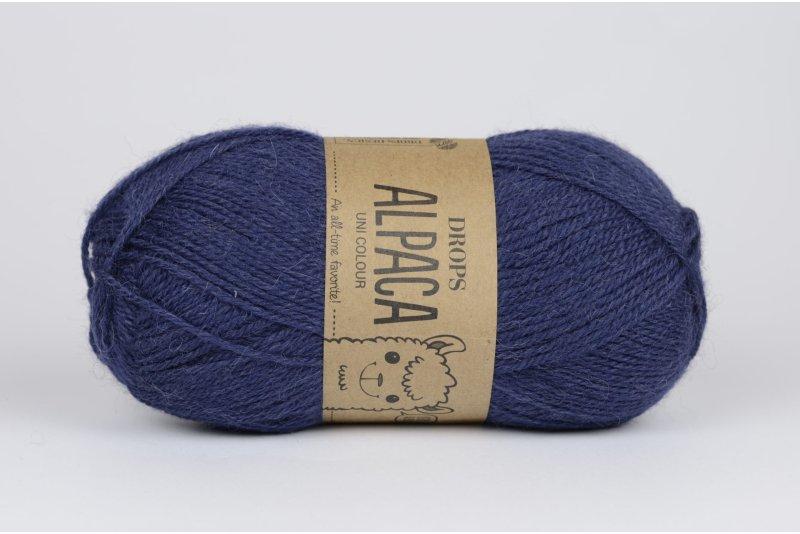 DROPS Alpaca - 4305 ciemny indygo