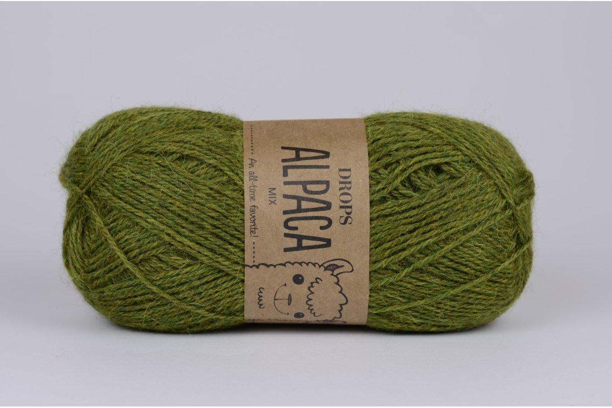 DROPS Alpaca - 7238 ciemna oliwka