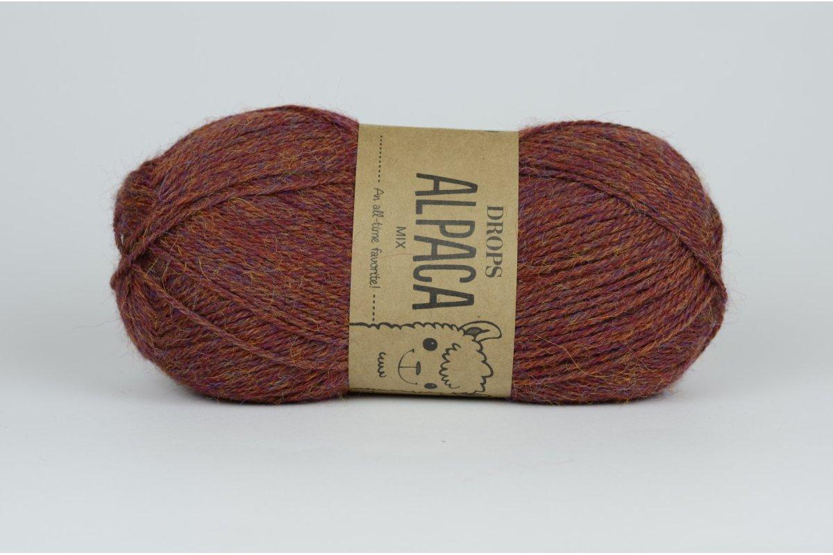 DROPS Alpaca - 5565 bordowo-brązowy
