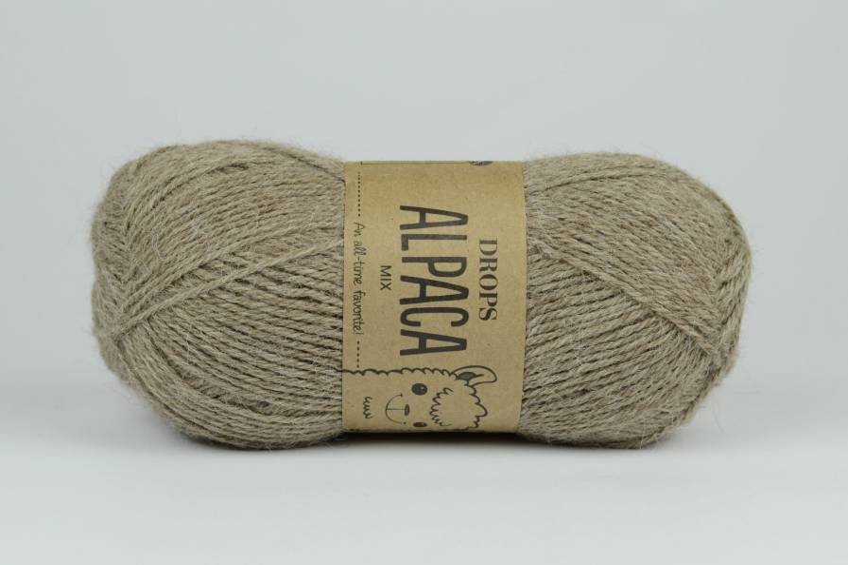 DROPS Alpaca - 0618 jasny beż