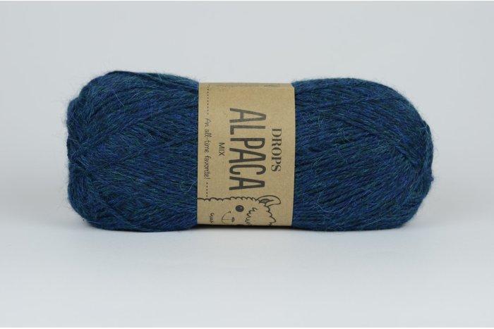 DROPS Alpaca - 6360 niebieski