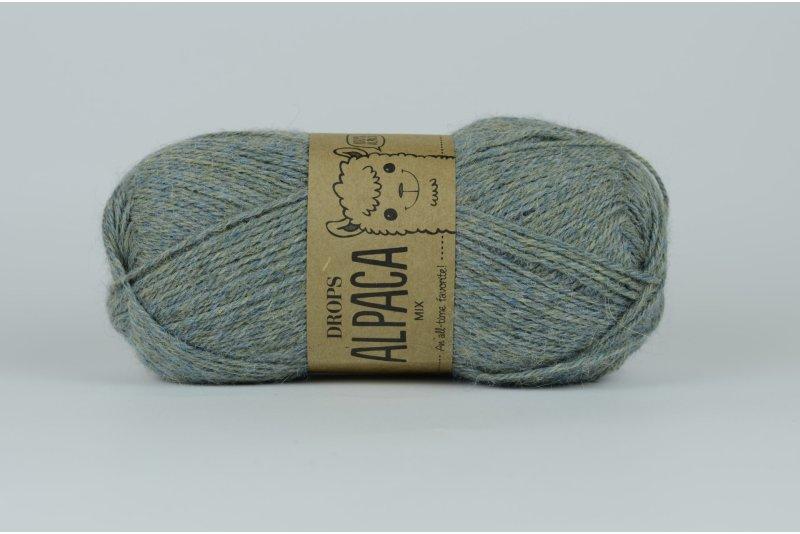 DROPS Alpaca - 7323 szaro-niebieski