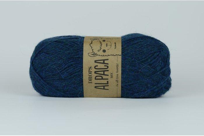 DROPS Alpaca - 7240 niebieski petrol