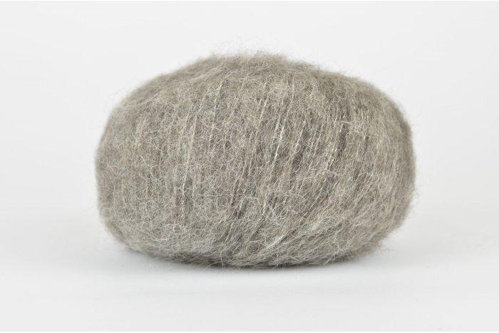 DROPS Brushed Alpaca Silk - 03 szary