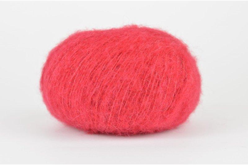 DROPS Brushed Alpaca Silk - 07 czerwony