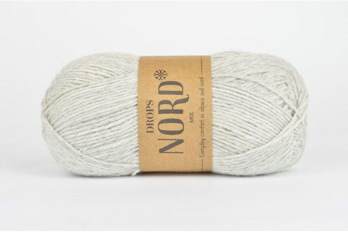DROPS Nord - 03 perłowy szary