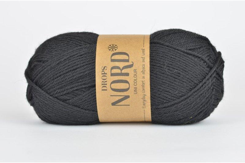 DROPS Nord - 02 czarny