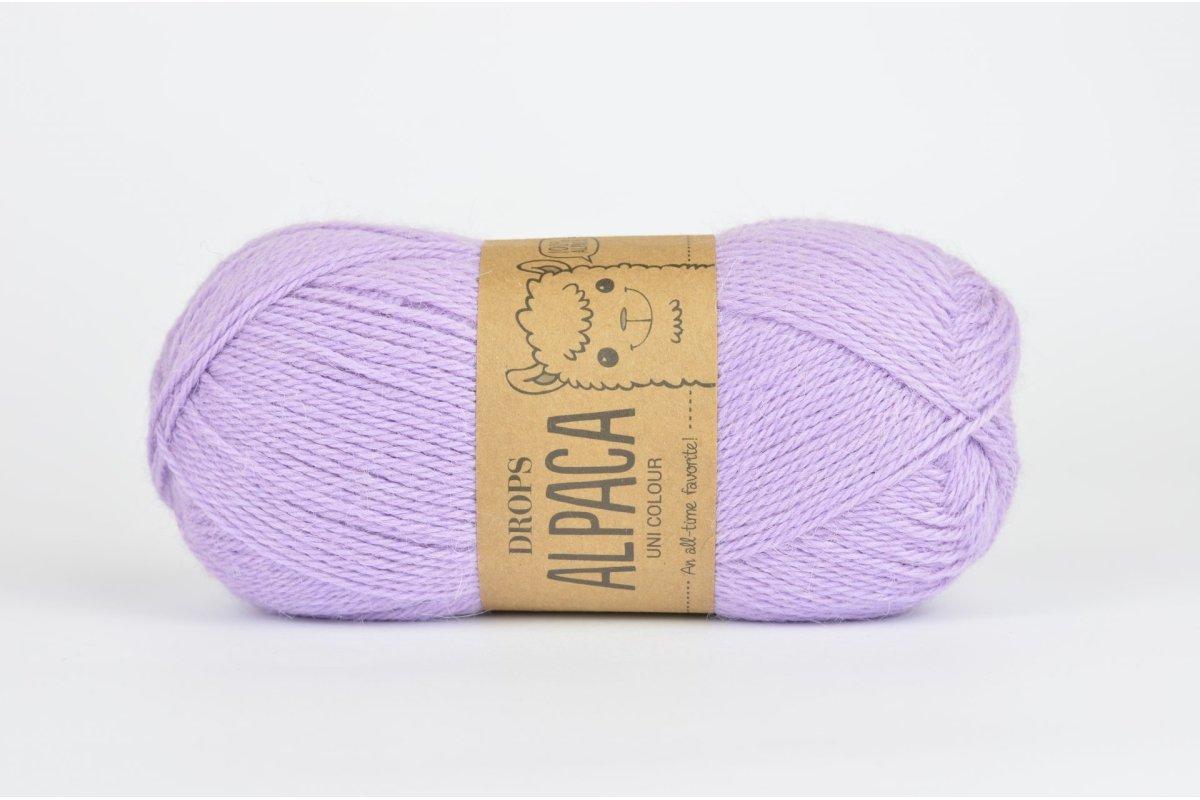 DROPS Alpaca - 4050  liliowy jasny