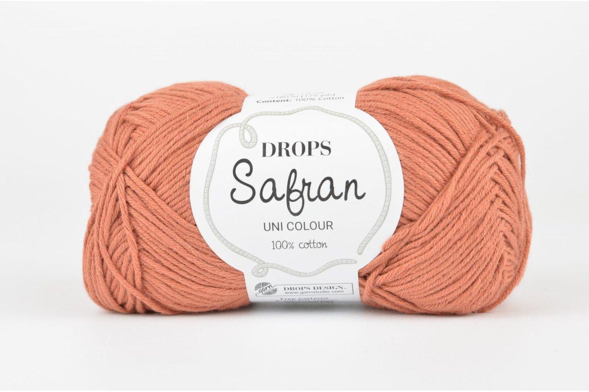 DROPS Safran - 59 czerwona glina