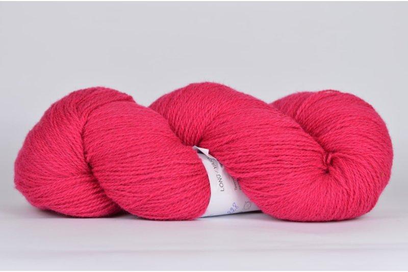 Wełna estońska 8/2 - pink - 242g