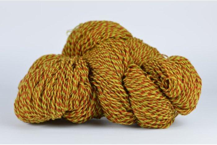Litwool - TAB007/2/150 - melanż rudy-musztarda - 118g