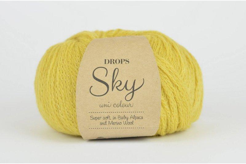 DROPS Sky - 16 cytryna