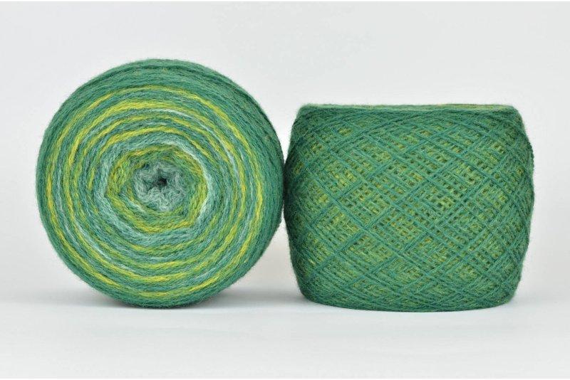 Wool Jazz Artistic - 86 zielona łąka
