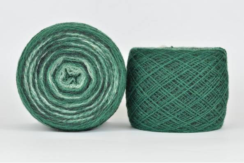 Wool Jazz Artistic - 85 zielony las
